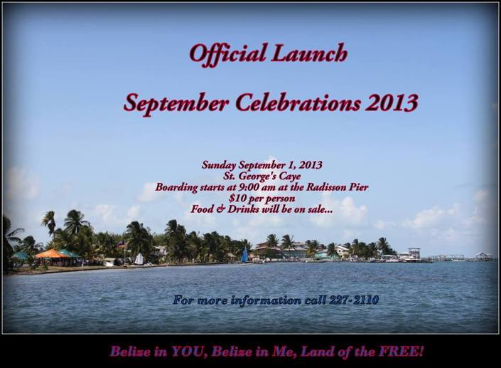 We arrive in Belize just in time for tow huge events -- September celebrations and hurricane season!