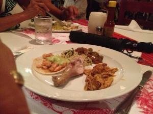 Dinner at Elvi's