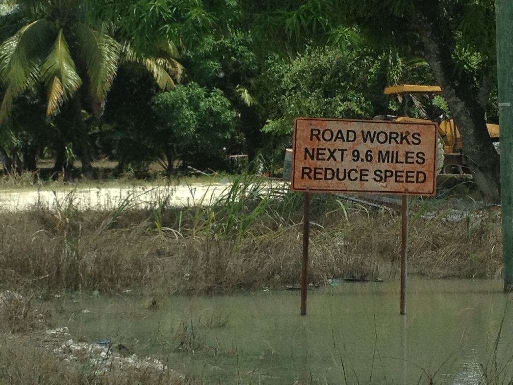 Speed bumps on the road of life got nothing on the roads of