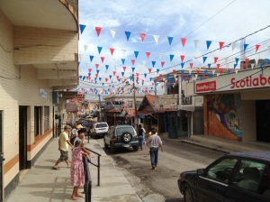 Downtown San Ignacio offers the hustle and bustle of a center of commerce but also has lovely parks on the Mopan and Macal rivers and a relentlessly encroaching rainforest.