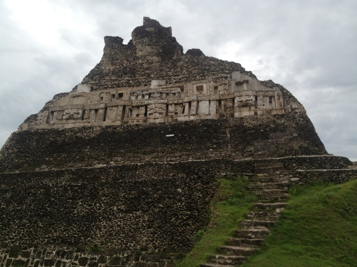 The eastern side of El Castillo.