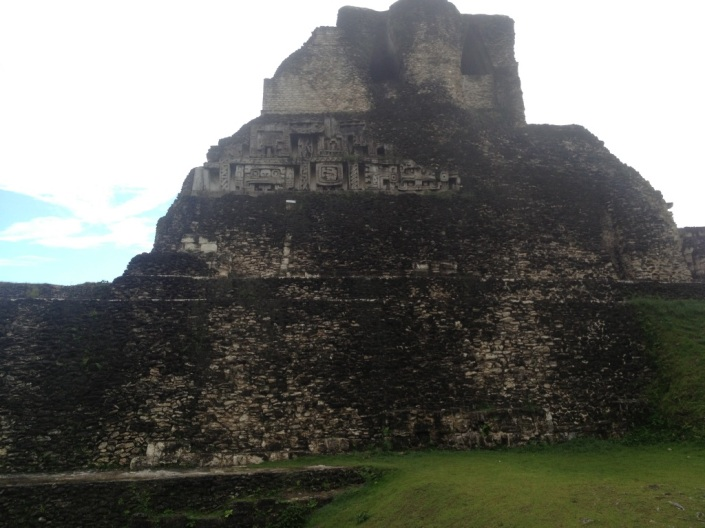 Western side of El Castillo.