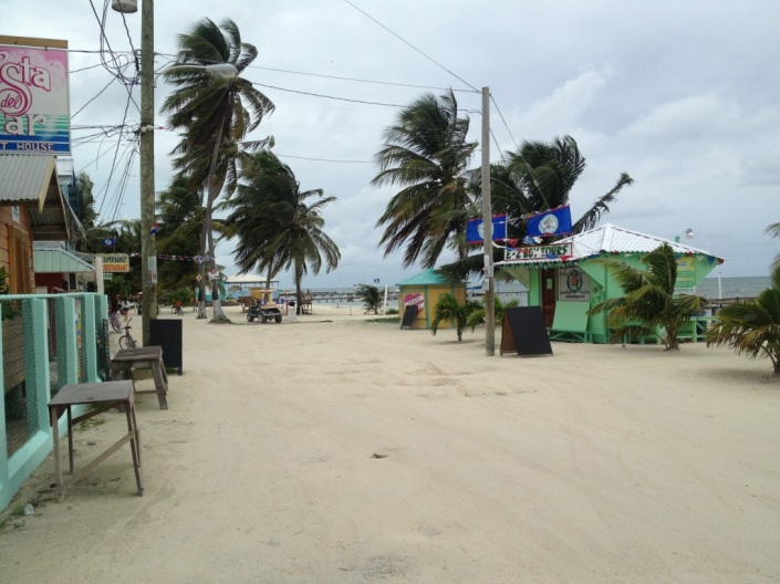 More scenes from the main street, Caye Caulker.