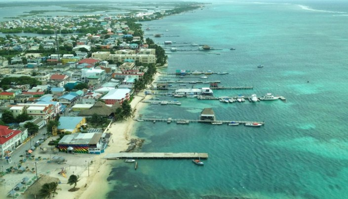 Here's a last glimpse of part of San Pedro on Ambergris Caye as we took the air taxi back to the mainland of Belize for our flight home.
