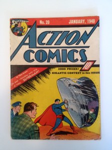 I've gotten some interest in this original Action Comics No. 20 which I'v held on to for nearly 40 years.