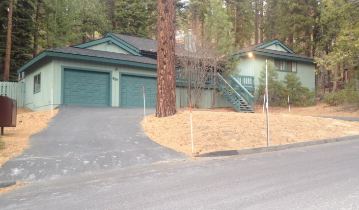 The Lake Tahoe house in Incline Village, Nevada, where Rose and I met face-to-face for the first time, five years ago today. Our share is being sold but it will remain a special place in our hearts.
