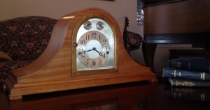 Why such a sad face, clock? You may be going to a new home, some day.