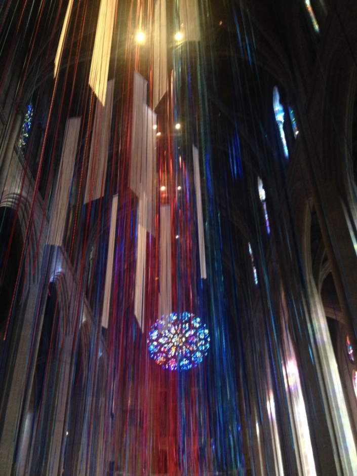 This is the inside of Grace Cathedral in San Francisco on Christmas Day, 2013. I'm adding it to this post because I find it inspirational. And kind of cool. I was inspired that it came out so well with an iPhone camera. So the lesson is that with the right small smart hand-held devices you can do cool stuff.