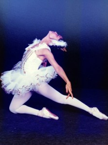 Rose Alcantara in Swan Lake.