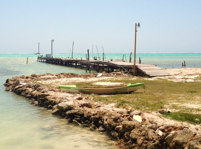 Part of my continuing series: Favorite Piers of Ambergris Caye. In book stores soon as a 50-pound coffee table book, or maybe just as a coffee table. Love the zig and the zag to this one, in Boca del Rio.