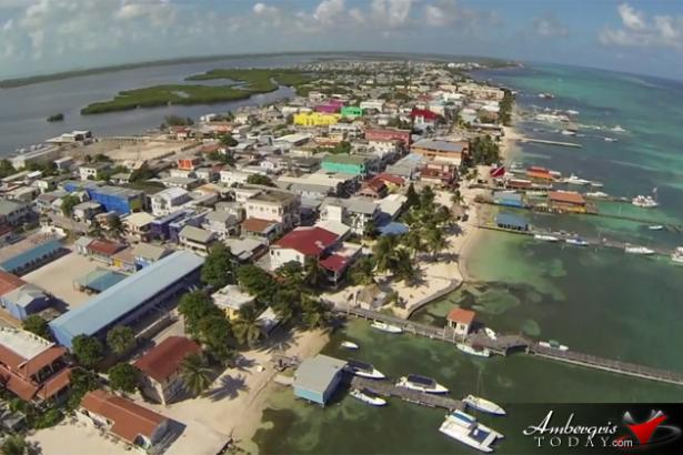 A drone-eye view of San Pedro Town from this splendid little fly-by video.
