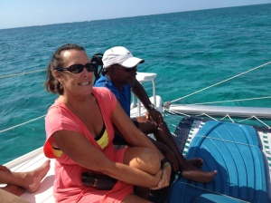 Ruthie and Chunky Rinehart helped Rose plan our snorkeling trip and took the best underwater photos of the day!