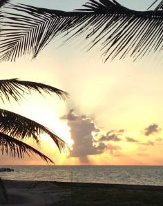 Sunrise on Easter Sunday.