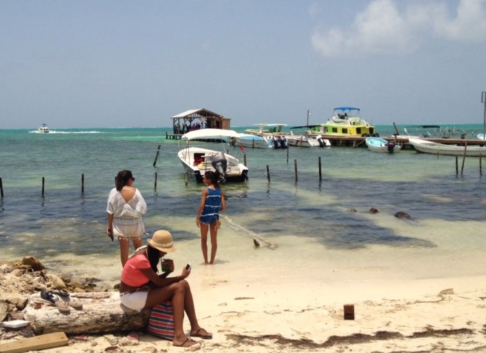 Tranquility reigns south of the main town on Caye Caulker, even during LobsterFest.