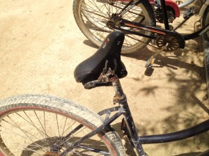 Reality check: This bike sat next to mine for six months and was never used. Just look at what tropical rust can do!