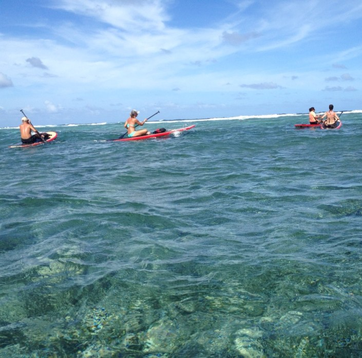 Even a bad day off the coast of Ambergris Caye is a significant slice of outdoors heave.