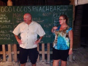 When Shirley and Ed Butterick, much beloved neighbors in our area, announced plans to return to the  States we held a party at Coco Loco's ...