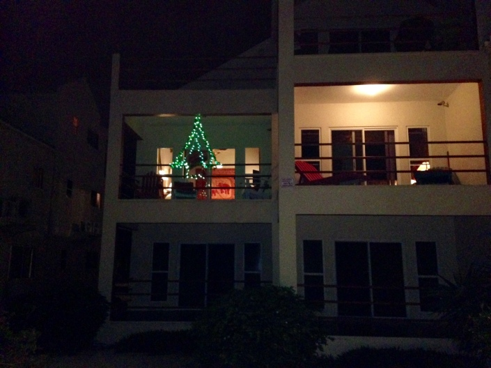Check it out! We decked the halls ....