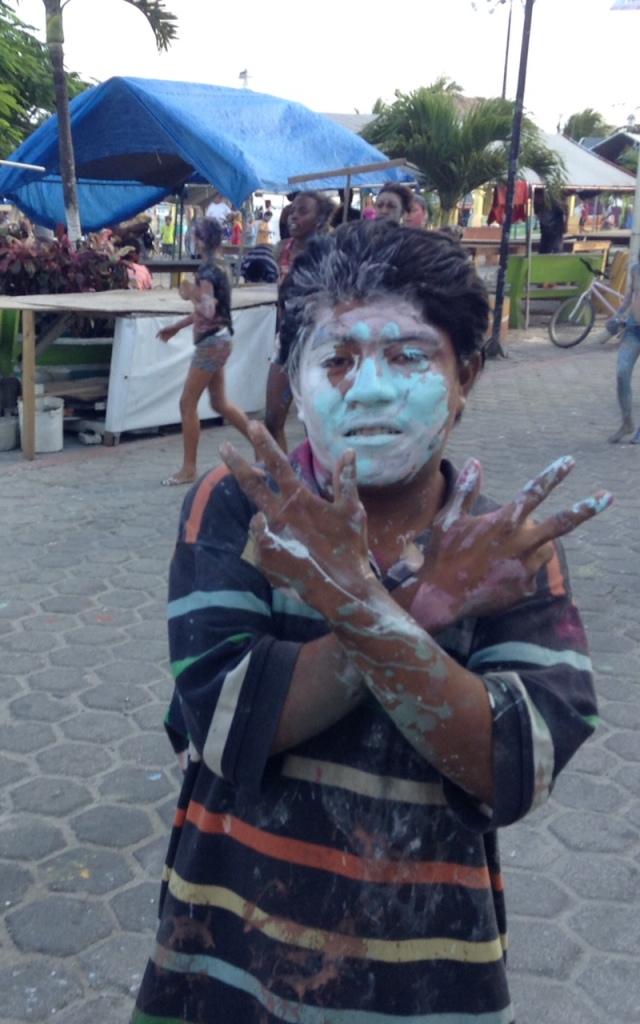 Carnaval children's painting on Sunday!