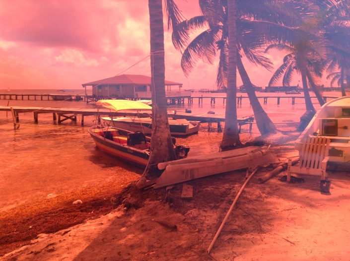 Another view from Boca del Rio, San Pedro Town.