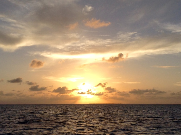 And of course, this was the whole point of the sunset cruise. Nature cooperated beautifully.