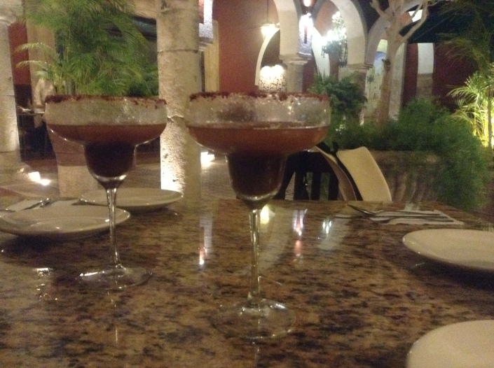 Tamarind margaritas at the welcoming La Prospe del Xtup restaurant on Calle 59 in Merida.