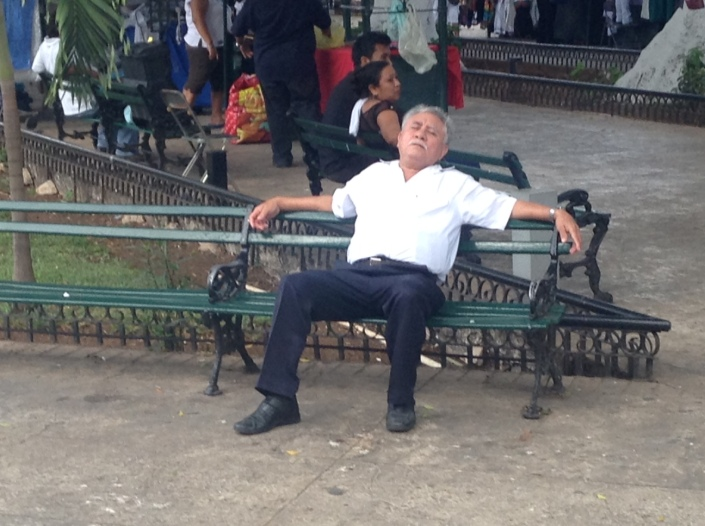 Sunday morning in  Parque Grande.  Is there a more perfect expression of a life enjoyed?