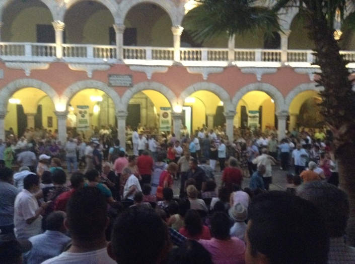 Music is everywhere in Merida