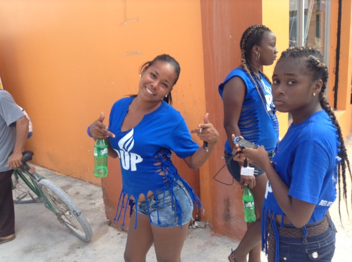 We had local elections last week! The party represented by these ladies did not win .....