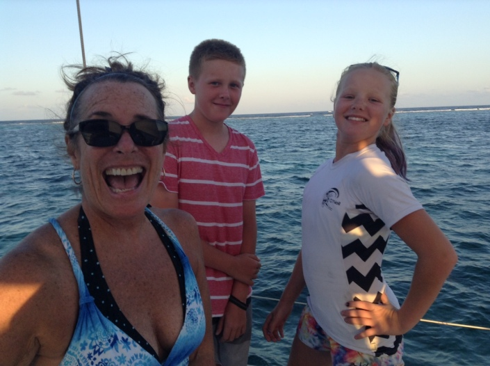 Silly at sea -- why not be?