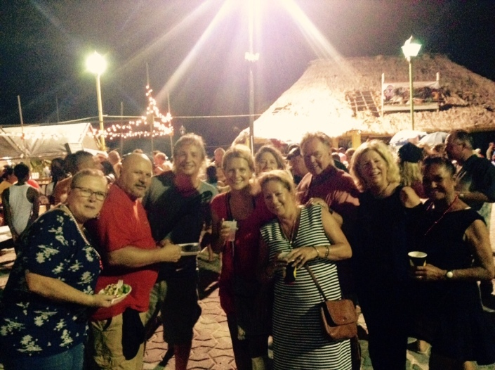 Hail, hail, the gang's all here -- at Lobsterfest 2015 Block Party of course. This is what we were doing while our gold cart was getting stolen. I'd post pictures of the cart but I have none. Hey, it was kind of ugly. So I'll just keep posting Lobster fest images here.
