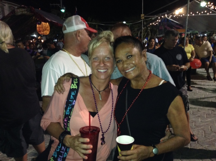 Rose and Melanye at Lobsterfest 2015.