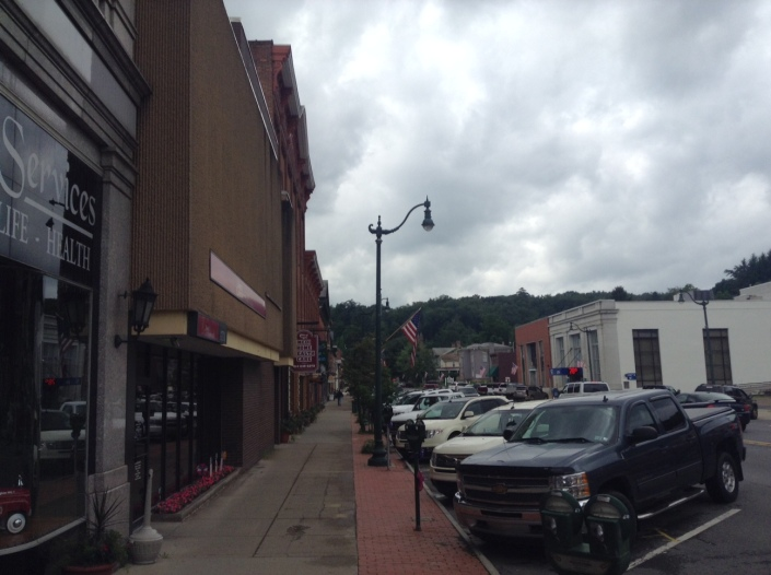 Main Street in Brookville, Pennsylvania -- unchanged but ever changing.