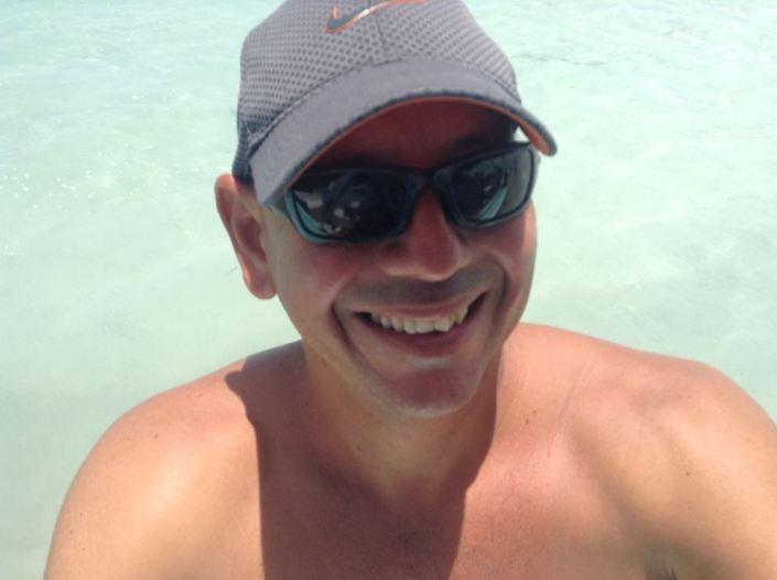 Trevor de Valle -- his smile speaks for us all.