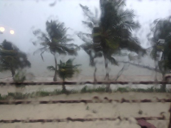 Rain is as much a part of life in Belize as sunshine, and just as critical for survival. Some folks might not like that.