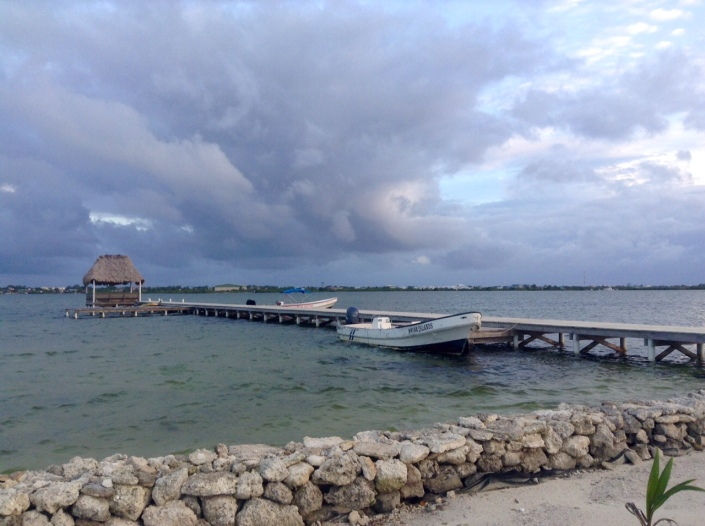 Mayan Islands Resort has big sky going for it, wide open space for amazing cloud formations and sunsets.