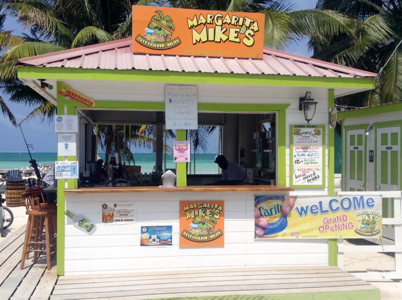 On Caye Caulker Go Slow Is Beginning To Sound Like A Plea Rather