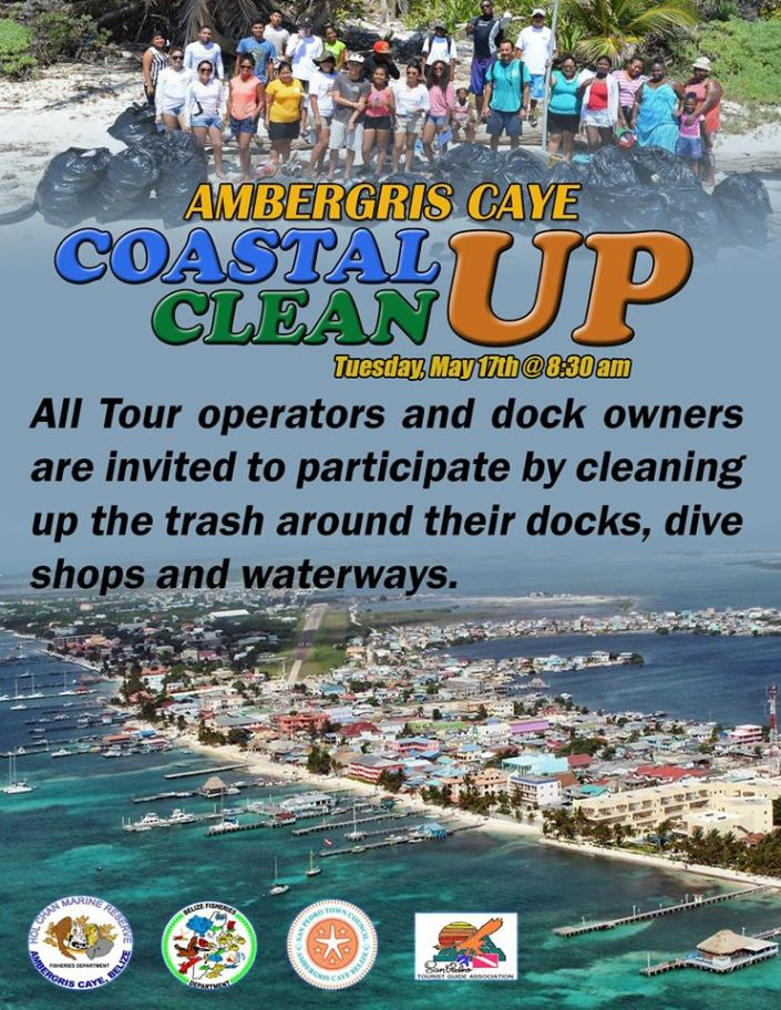 Get your garabage bags ready on Tuesday May 17th @ 8:30 am, and lets clean up our coastline...all trash bags will compiled at the municipal dock!