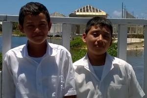 Carlos and Angel