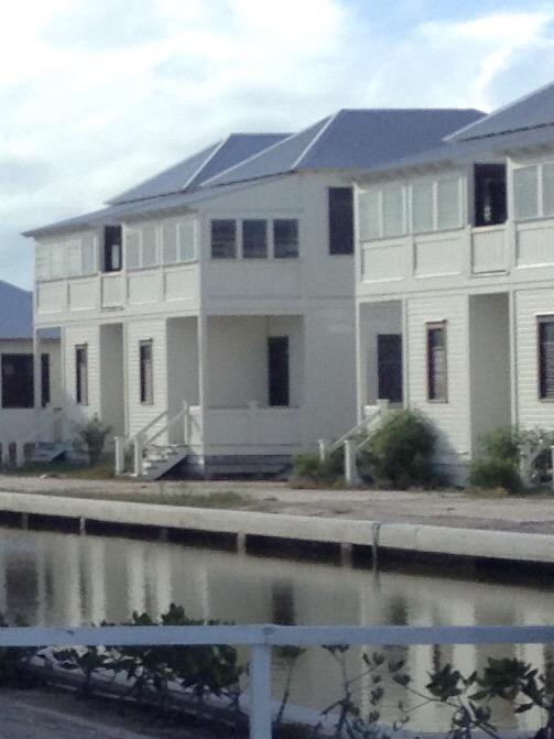 Some of the residences at Mahogany Bay.