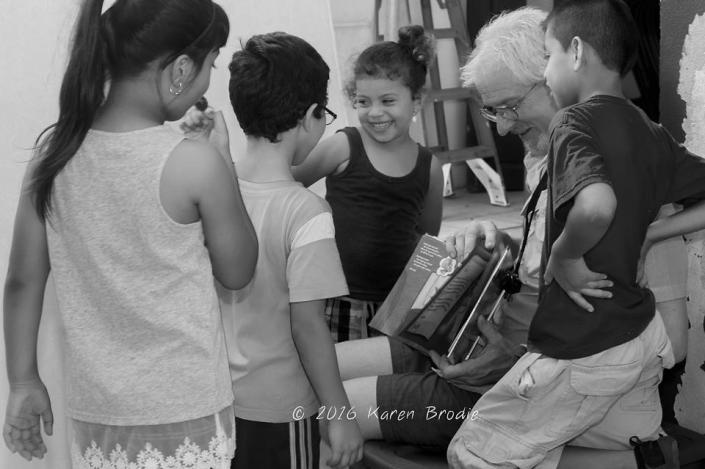 The Healing Power of a Good Story and Sharing (Photo by Karen Brodie)