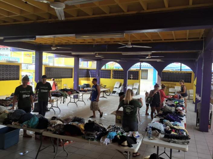 San Pedro Food Bank and the Lions Club are working together at the downtown Lions Den to collect and organize food, toiletries and clothing for the fire victims. Click on the San Pedro Food Ban page here.
