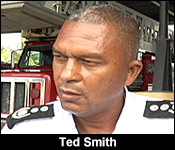 Fire Chief Ted Smith