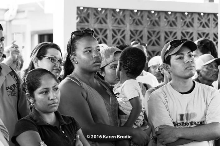 Just saying no. This is the current face of Belize when confronted with a surprise offshore oil exploration gambit. (Photo by Karen Brodie.)