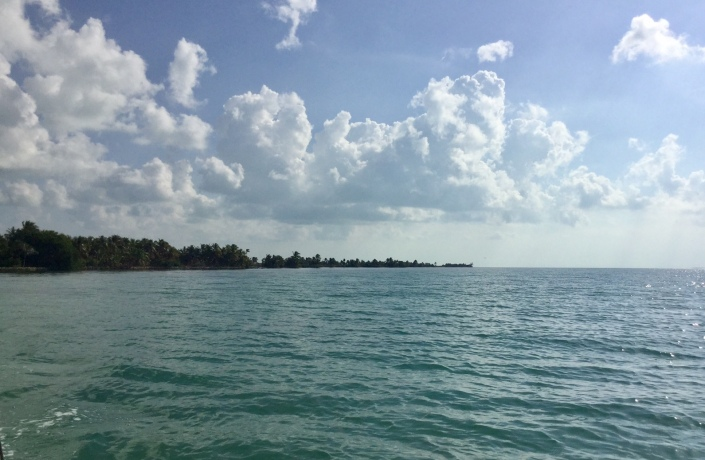 A last look back at Blackadore Caye, Belize. The next time we set foot on the island it will be a very different place. I'll cherish the memories we have of it.