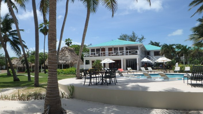 Victoria House, one of the most beautiful resorts on Ambergris Caye.