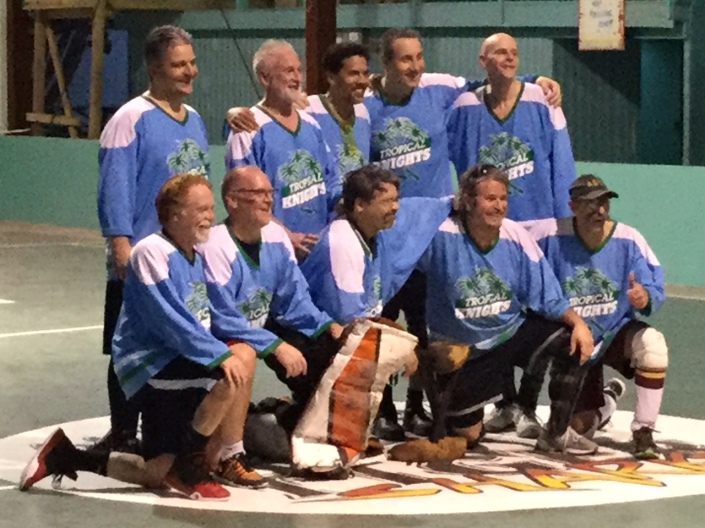 Team picture of the winning squad Withrow Park Tropical Knights from Toronto, Canada. They promise to return next year!